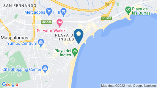 Casablanca Apartments Map