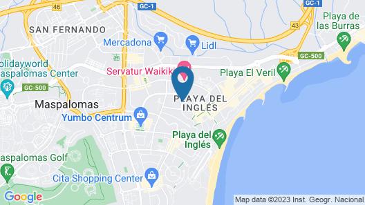 Bungalows Parque Paraiso I Map