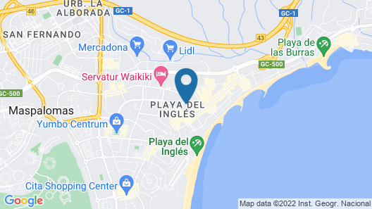 Apartments Maritim Playa - Adults Only Map