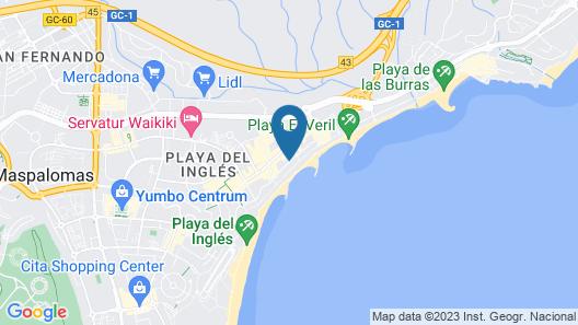 Apartamentos Montemayor Map