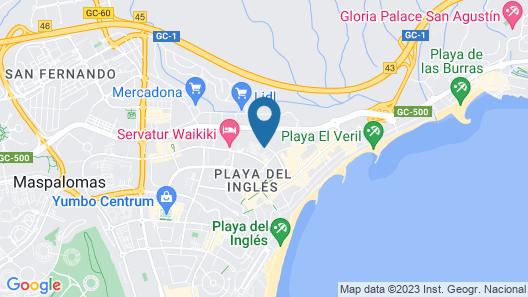 Bungalows Parque Paraiso II Map