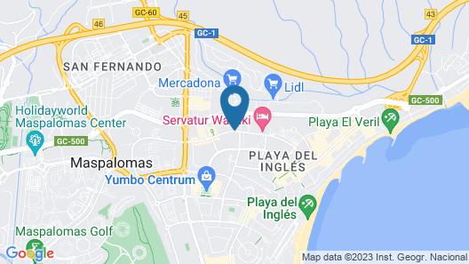 Bull Eugenia Victoria & Spa Map