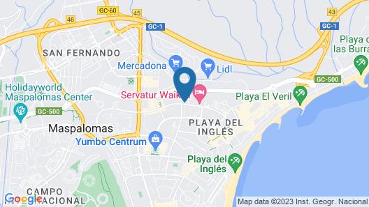Apartamentos Jardin del Sol Map