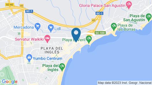 Bull Escorial & Spa Map