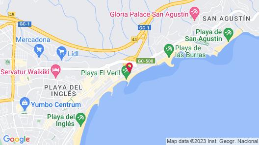 Hotel Europalace Map