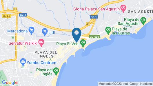 Hotel Parque Tropical Map
