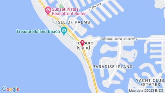 Bilmar Beach Resort Map