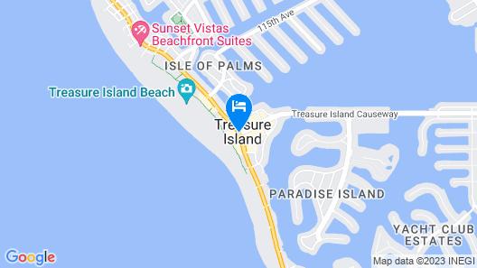 Thunderbird Beach Resort Map