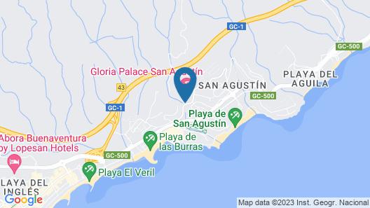 Gloria Palace San Agustin Thalasso & Hotel Map