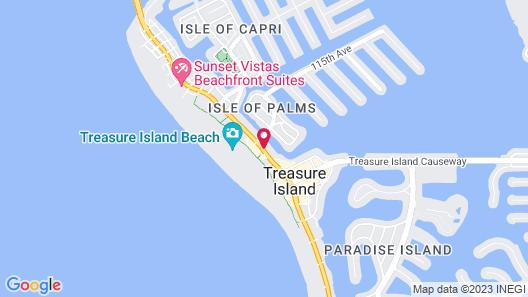 Treasure Bay Resort & Marina Map
