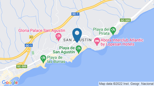 Bull Costa Canaria & Spa - Adults only Map