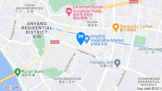 WHWH Business Hotel - Ruian Map
