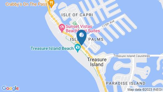 The Bayside Inn & Marina Map