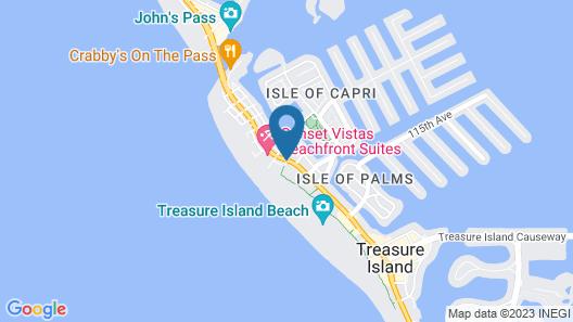 Voyager Beach Club by Liberte' Map