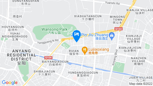 Rui'an International Hotel Map