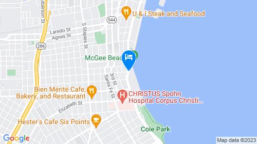Emerald Beach Hotel Map