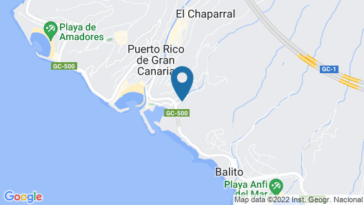Holiday Club Puerto Calma Map