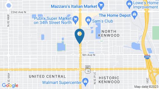 Holiday Inn St. Petersburg West, an IHG Hotel Map