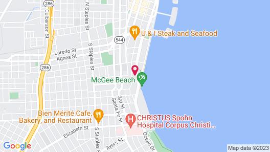 Budget Inn & Suites Shoreline Map