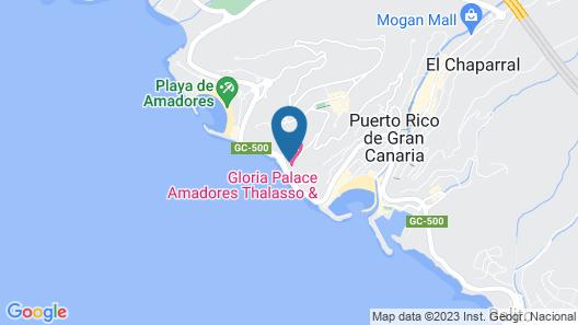 Gloria Palace Amadores Thalasso & Hotel Map