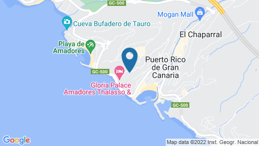 Servatur Puerto Azul - All Inclusive Map