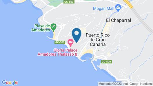 Servatur Puerto Azul Map