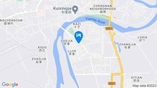 Vienna Hotel Map