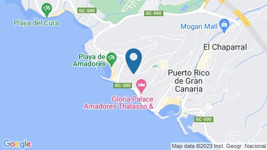 Hotel Altamar Map