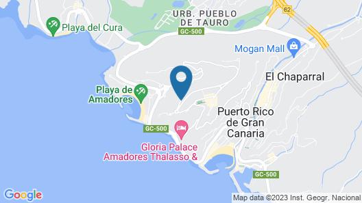 Holiday Club Jardin Amadores Map