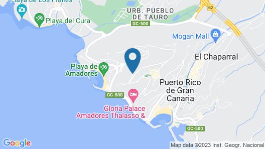 Holiday Club Vista Amadores Map