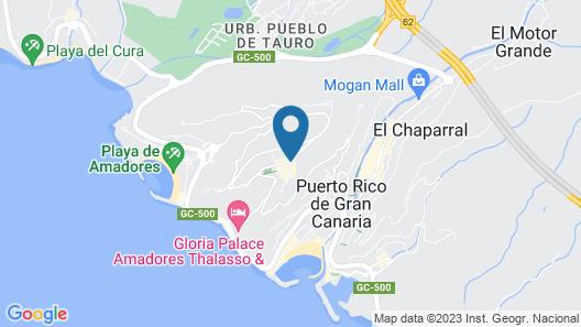 Riosol Hotel Map