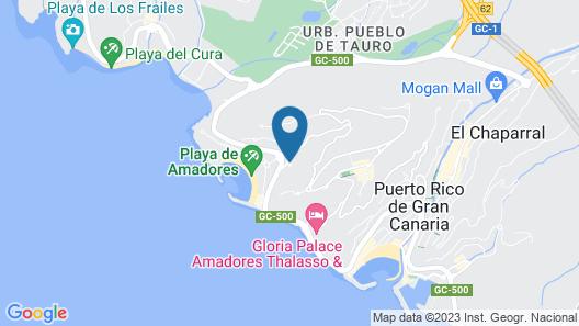 Apartamentos Gran Amadores Map