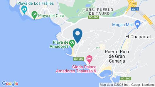 Holiday Club Playa Amadores Map