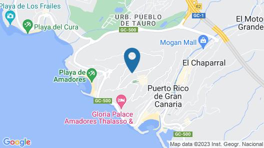 Ura Nido del Águila Map