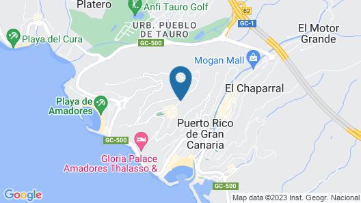 Colina Mar Map
