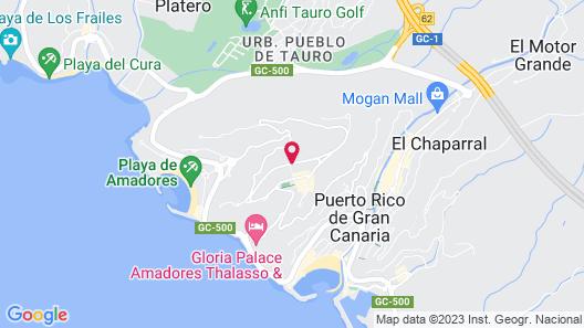 Apartamentos Edén Map