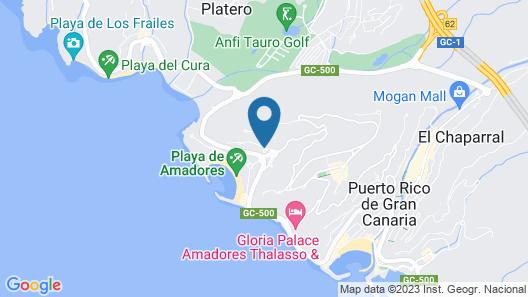 Gloria Palace Royal Hotel & Spa Map