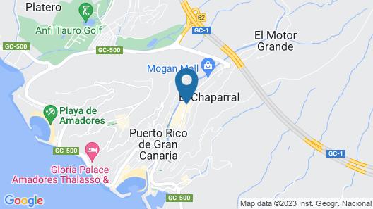 Apartamentos Montecarlo Map