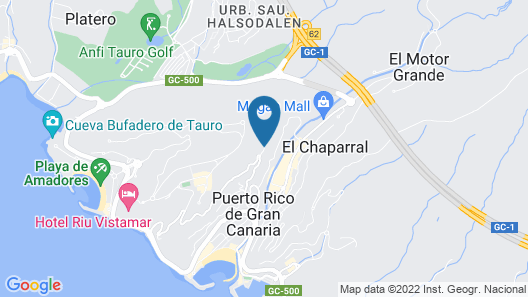 Canaima Apartments - Adults Only Map