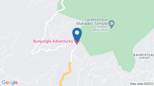 Bunjungle Adventures Map