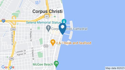 Best Western Corpus Christi Map