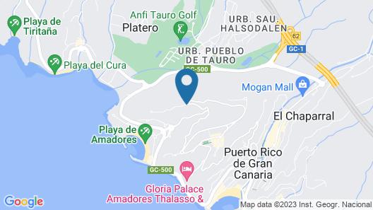 Hotel Altamadores Map