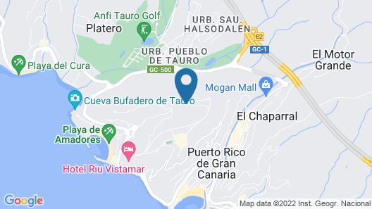 Holiday Club Sol Amadores Map
