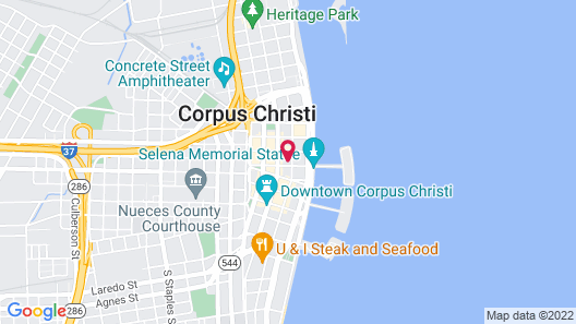 Corpus Christi Bayfront Map