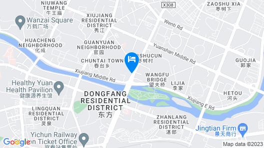 Home Inn Yichun Huanglong Building Map