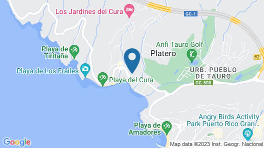 Hotel Riviera Vista Map