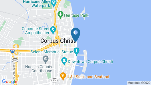 Omni Corpus Christi Hotel Map