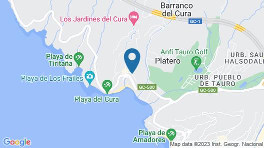 Apartamentos Curasol Map