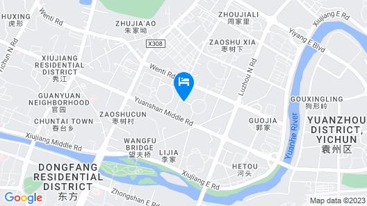 Ying Hotel - Yichun Map
