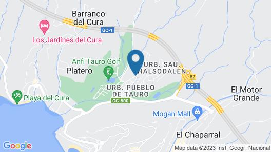 Villas de Tauro Map